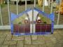 2 voorzet ramen Art Deco