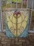 jugendstil 2 raam panelen